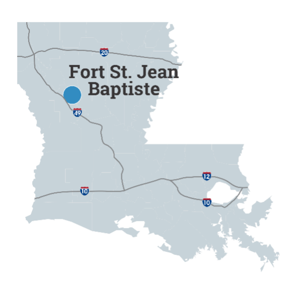 Fort St. Jean Baptise State Historic Site